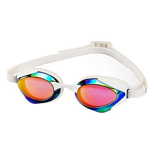 Gafas De Natación: Protección UV Correa Ajustable Antivaho Hermética Ajuste Cómodo Para Adultos Unisex Hombres Mujeres Junior (color : B)