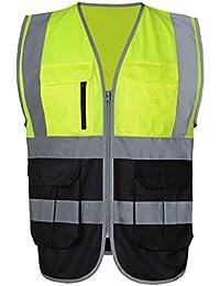 86cad672e00a Herren Atmungsaktiv Warnshirt Warn T Shirt Hemd mit hoher Sichtbarkeit  Sicherheitshirt Größe M Fluoreszenz Gelb · EUR 21,99 Prime. Atmungsaktiv  Warnweste ...