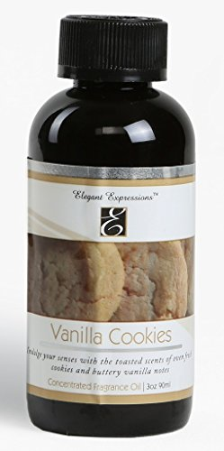Hosley Highly Fragranced Vanilla Cookies Oil Bottle