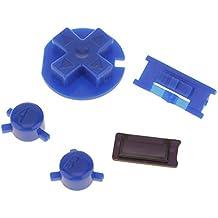 MagiDeal A B Buttons D-pad Blue Colour Buttons for Nintendo Game Boy Color GBC Repair Parts