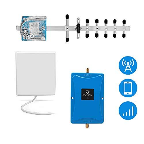ANNTLENT GSM LTE Handy Signalverstärker für T-Mobile E-Plus 3 (DREI) 1800MHz (Band 3) 70 dB Handy Repeater 2G 4G Verstärker (Hinweis: T-mobile)