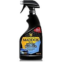 Maddox Detail Insect Remover - Limpiador insectos estrellados en frontales, parabrisas y parachoques. (500ml)