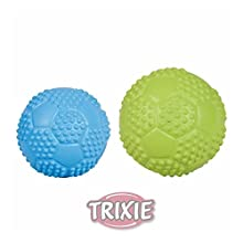 Trixie Natural Rubber Sport Ball, 5.5 cm, Pack of 4