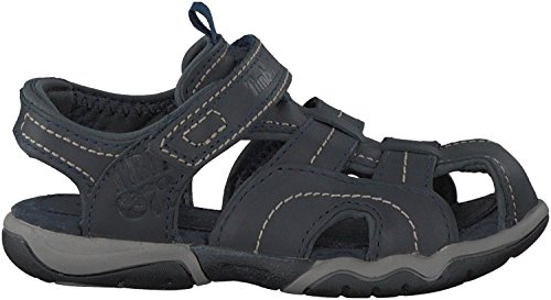 Blaue Timberland Sandalen OAK BLUFFS LEATHER FISHERMAN - 27