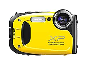 Fujifilm FinePix XP60 - Yellow (16.4MP, 5x Optical Zoom, Waterproof to 20ft/6m, Shockproof to 5ft/1.5m)