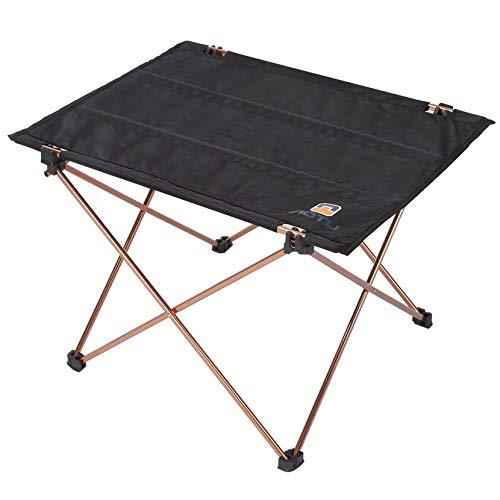 Yofafada Table Pliante Portable Pliable Bureau en Alliage d'aluminium Meubles Tissu Oxford extérieur Pique-Nique Table Pliante Camping