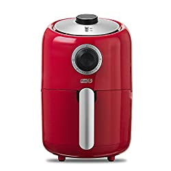 Dash DCAF150GBRD02 Compact Air Fryer, Red