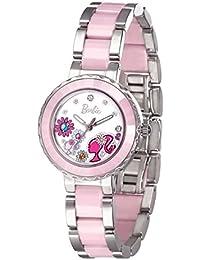 Barbie W50359L.01A 2017 Reloj Moderno Cerámica de Pulsera para Mujer de Dibujo de Flor