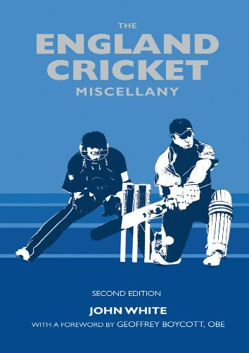 England Cricket Miscellany (English Edition) por John White