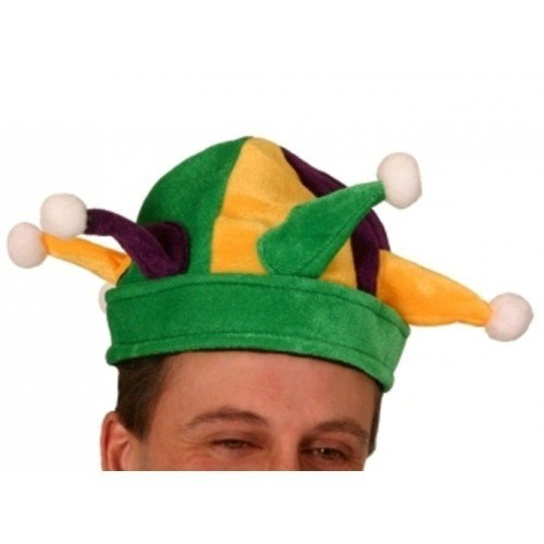 Jester Hat Round with Points Felt by ()