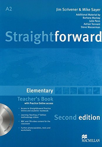 Straightforward Elementary Level: Teacher's Book Pack by Philip Kerr (2012-01-20)
