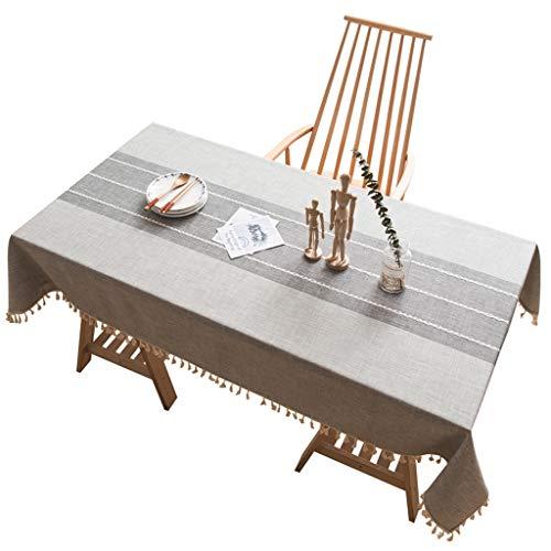WSGZH Nappe en Polyester De Dentelle Vintage Rectangle 60 * 60cm - 140 * 300cm Nappe De Table en Polyester Polyester De Coton (Taille : 110 * 170CM)