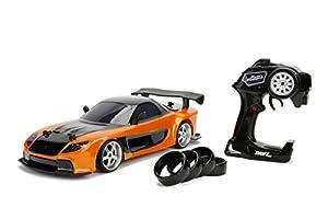 Jada Fast & Furious RC Car 1/10 Mazda RX-7 Drift Toy (99700)