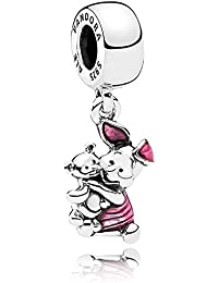 Pandora Women Silver Bead Charm - 792134EN117