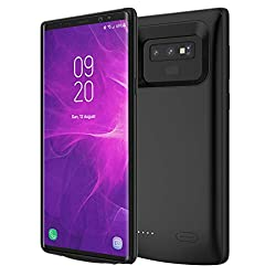 Samsung Galaxy Note 9 Battery Battery Case, Danallc Slim External Protective Rechargeable Portable Charging Case Case with Charger Cover Charger Cover for Samsung Galaxy Note 9 Battery