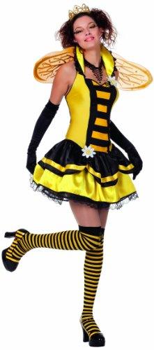 Bienenkostüm Damen, Gr. 38 (Kostüme Bee Queen Zubehör)