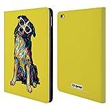 Head Case Designs Ufficiale P.D. Moreno Border Collie Cani Cover a Portafoglio in Pelle per iPad Air 2 (2014)
