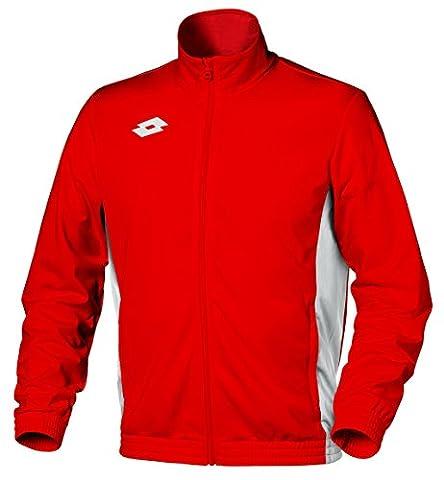 Lotto - Delta veste rouge - Vestes de survêtements tracktops - Rouge - Taille M