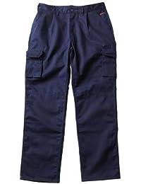 MASCOT ORIGINALS Bundhose Arbeitshose Pasadena mit vielen Taschen, Beinlänge 82cm
