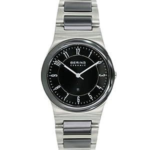 Bering Time Herren-Armbanduhr Analog Quarz Edelstahl beschichtet 32235-747