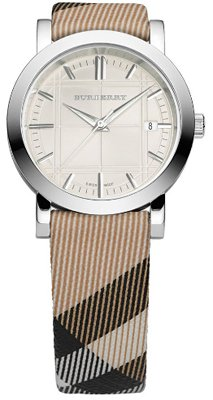 BURBERRY orologio BU1390 SIGNATURE NOVA CHECK swiss