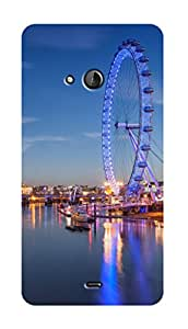 SWAG my CASE PRINTED BACK COVER FOR NOKIA LUMIA 540 Multicolor
