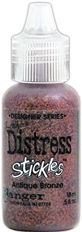 Ranger Tim Holtz Distress Stickles, Antique Bronze