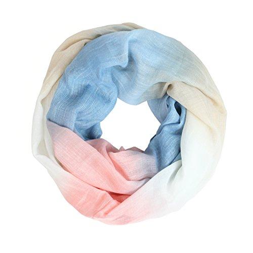 Glamexx24 Neue Kollektion Damen schal leichter Langschal Loop Schlauchschal Tuch Viele Farben 01386a4