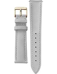 Cluse Damen Uhrenarmband Leder La Bohème Grau/Gold CLS029