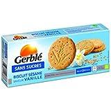 Gerblé - Biscuit Sésame Vanille - (Prix Par Unité ) - Produit Bio Agrée Par AB