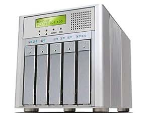 Raidon SR6600-5S-WBS2 Boîtier RAID pour 5 Disque Dur SATA Interface 2x Firewire B/eSATA/USB2.0/Raid 0/1/3/5/6