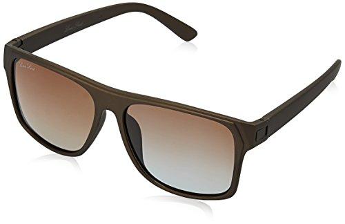 LOUIS SMIT Gradient Wayfarer Men\'s Sunglasses - (LS103 C4|55|Brown Gradel Color)
