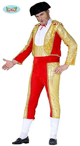 Torero Stierkämpfer - Kostüm f. Herren Karneval Fasching Arena Kampf Stier Gr. M - L, Größe:M