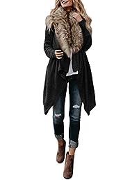 designer fashion 3e02b cefb9 Suchergebnis auf Amazon.de für: Fell Strickjacke - Damen ...
