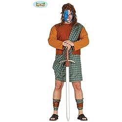 Disfraz de Braveheart escocés (talla L)