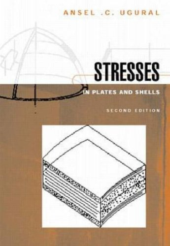 STRESSES IN PLATES ANS SHELLS. 2nd edition, Edition en anglais