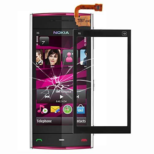 KANEED Touch Panel Ersatzteile, Nokia X6 Touchscreen (Farbe: schwarz) (Color : Black) Nokia X6 Touch Screen