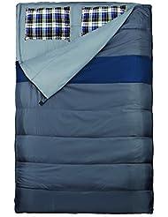 EXPLORER Schlafsack 220 x 150/75 cm DUO Deckenschlafsack Doppelschlafsack (auch als 2Einzelschlafsäcke nutzbar) Sommerschlafsack +/-0°C Outdoor Camping