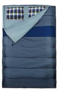 Explorer sac duo, gris/bleu, 220 x 150 cm, 4624