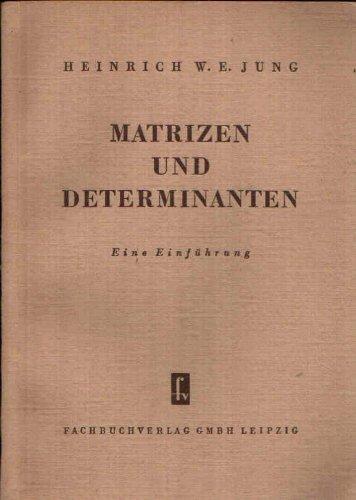 Matrizen und Determinanten