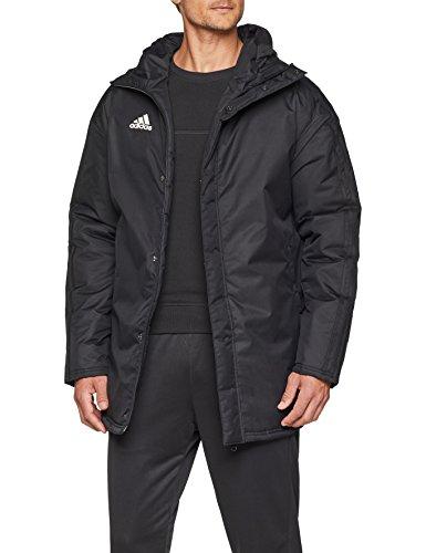 Adidas Jkt18 Std Parka Sport Jacket, Hombre, Black/White, 3XL