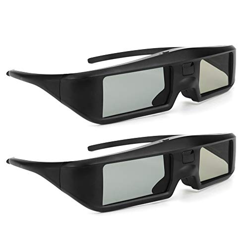 Docooler Oler 2 Unidades G06 de BT 3D Activa Shutter Vasos Virtual Reality Bluetooth señal Especialmente para LG/Sony/Panasonic/Sharp/Toshiba/Mitsubishi/Philips/Samsung 3D TV Smart TV