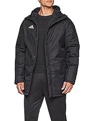 Adidas JKT18 STD Parka Jacket, Hombre, Black/White, L
