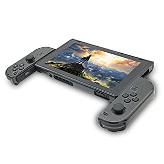 Case for Nintendo Switch, Hard Case for Switch, Asnlove Premium Hard PC Protective Case Cover for Nintendo Switch Game Joycon Controller Black