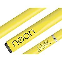 9mm Neon - Non Legno - Non è Vuoto - Nessun Giunto Di Legno - Tutto Puro Grafite + Lana Di Vetro = Composito Cue Stick - Palko Grafex - Quasi Infrangibile - Biliardo Stecche