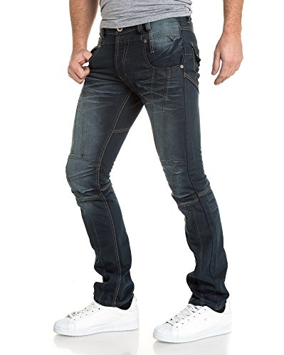 BLZ jeans - Jeans bleu original délavé Bleu