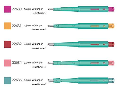 GiMa 22634Curette Biopsy mit Shutter, 3mm Durchmesser, 20Stück