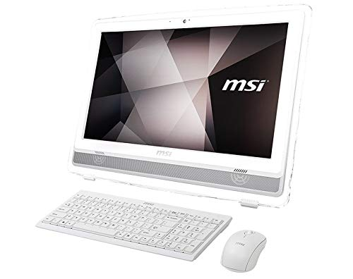 "All In One Msi Pro 22et 7nc-220xeu 21.5"" Touch I7-7700u 8gb 1tb+128gb Ssd Nvidia Gt930mx 2gb No Sist. Betrieb in Weiß"