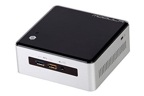 Intel NUC i3 (high) (Intel Core i3-5010U bis 2.10 Ghz, 4GB DDR3 RAM, 128GB SSD, ohne Betriebssystem) - Modula G4