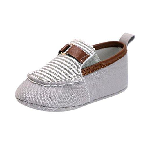 Baby Shoes, Xshuai® Fashion Toddler Infant Baby Boys Girls Crib Stripe Splicing Soft Sole Anti-Slip Shoes